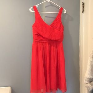 J. Crew bridesmaid dress from wedding line